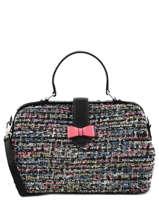 Doctor Bag Tweed Color Woomen Violet tweed color WTWC06